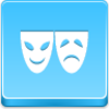 Free Blue Button Icons Theater Symbol Image