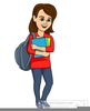 College Classroom Clipart Image
