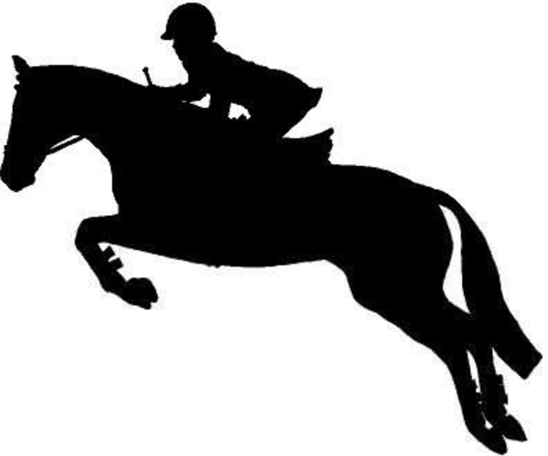English Jumping Horse Clipart | Free Images at Clker.com ... Jumping Horse Silhouette Clip Art