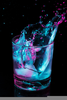 Neon Party Drinks Image