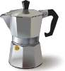 Italian Coffee Maker Clip Art