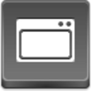 Free Grey Button Icons App Window Image