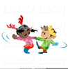 Free Clipart Little Girl Dancing Image