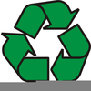 Aluminum Can Recycling Clipart Image