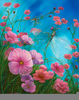 Dragonflies And Flowers Image