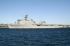 Uss Rushmore (lsd 47) Steams Out Of San Diego Bay As She Departs On A Scheduled Six-month Deployment. Image
