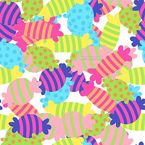 Bg Colorful Candies On White Image