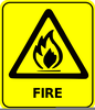 Safety Signs Animated Clipart Image