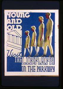 Young And Old Visit The Library On The Parkway Image