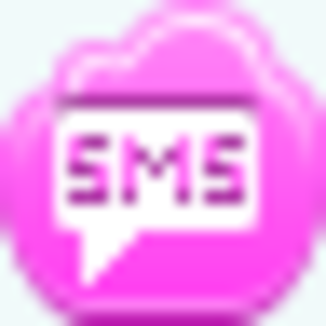 Free Pink Cloud Sms Image