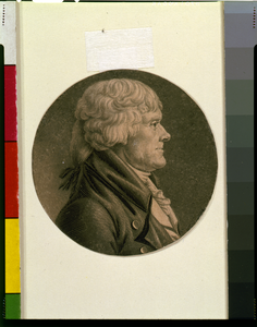 [thomas Jefferson, Head-and-shoulders Portrait, Facing Right] Image