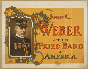 John C. Weber And His Prize Band Of America Image