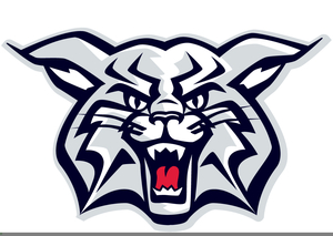 free wildcat football clipart free images at clker com vector rh clker com Wildcat Badge wildcat mascot clipart free