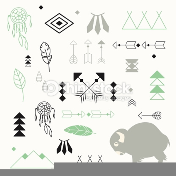 Native American Clipart Symbols Free Images At Clker Vector