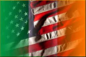 Irish And American Flag Image