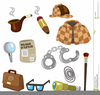 Animated Detective Clipart Image
