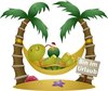 Free Clipart Palm Tree Beach Image