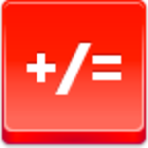 Free Red Button Icons Math Image