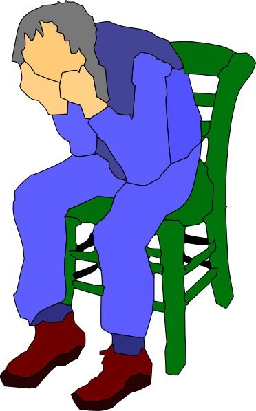 Man Sitting On A Chair clip artPerson Sitting On Chair Clipart