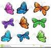 Free Black And White Clipart Of Butterflies Image