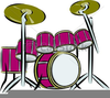 Free Clipart Of Drum Sets Image