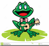 Animated Frogs Clipart Image
