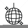 Free Disco Ball Clipart Image