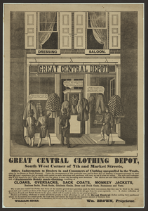 Great Central Clothing Depot... Image