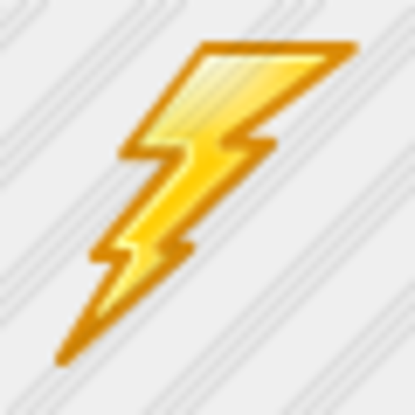 Icon Thunderbolt 1 | Free Images at Clker.com - vector ... Thunderbolt Clipart