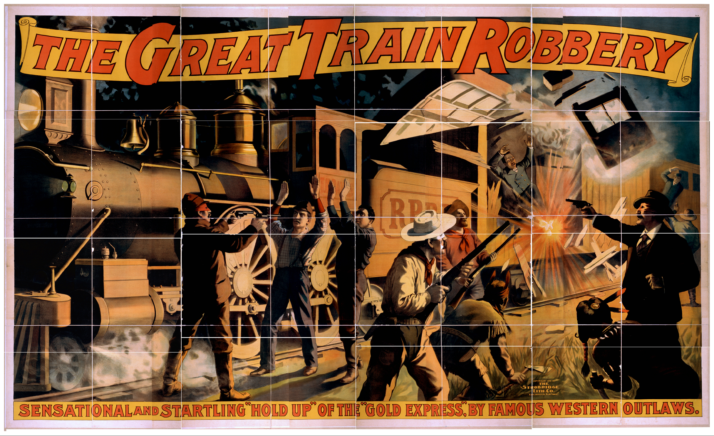 The Great Train Robbery | Free Images at Clker.com