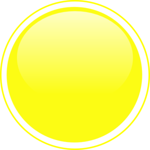 Glossy Yellow Icon Button Clip Art