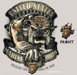 Us Marine Corps Graphic Logos Clipart Image