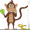 Monkey Clipart Animated Image