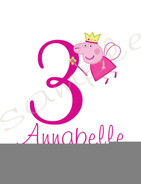 Black And White Peppa Pig Clipart