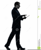 Man In A Suit Clipart Image
