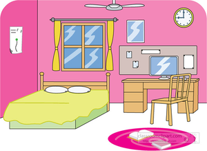 Clipart Of Kids Cleaning Room | Free Images at Clker.com
