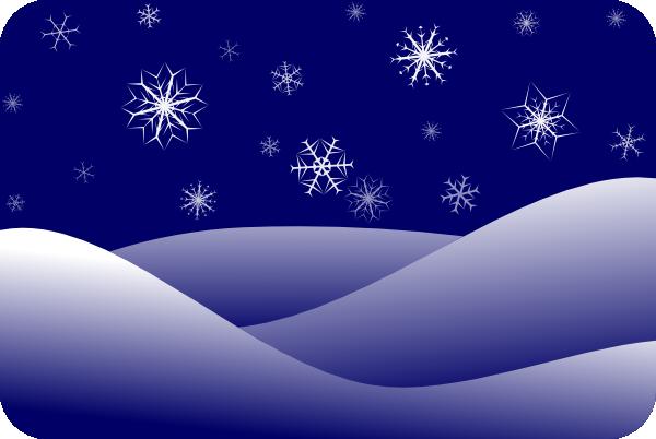 Winter Scenery Clip Art at Clker.com - vector clip art ...
