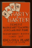 Party & Barter - Benefit Nassau Art Teachers Scholarship Fund Coca Cola Plant, Rockville Centre. Clip Art
