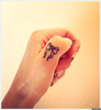 Bow Finger Tattoos Image