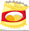 Free Bag Of Chips Clipart Image