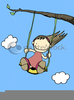 Clipart Monkey Swinging In A Tree Image