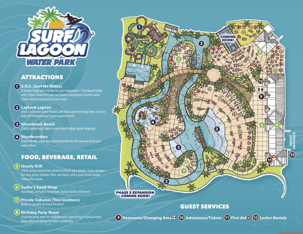 Typhoon Lagoon Map | Free Images at Clker.com - vector clip art ...