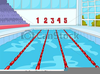 Cartoon Swimming Pool Clipart Image