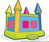 Free Clipart Of Bouncy Castles Image