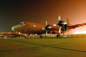 A P-3c Orion Assigned To Patrol Squadron Nine (vp-9). Image