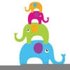 Free Clipart For Elephants Image