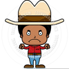 Angry Cowboy Cartoon Image
