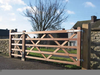 Wooden Ranch Gates Image