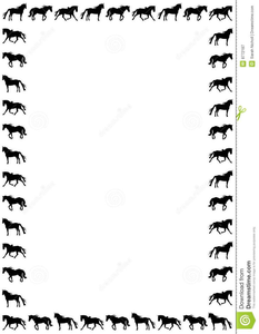 Horse Racing Border Clipart Free Images At Clker Com Vector Clip Art Online Royalty Free Public Domain