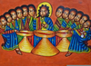 Christian Last Supper Clipart Image